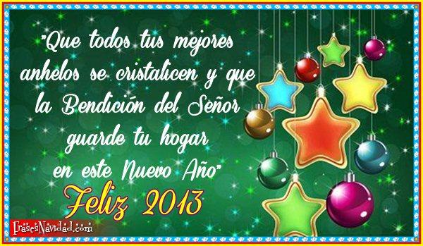 Feliz de año nuevo 2013