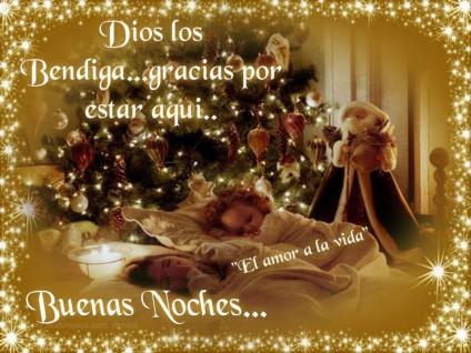 buenas noches feliz navidad