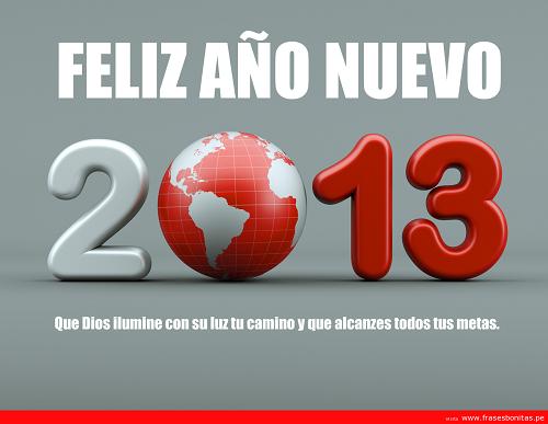 dedicatorias para año nuevo 2013